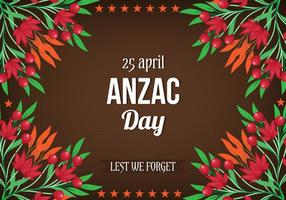 Free Vector Anzac Tag