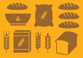 Getreide Icons