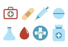 Medizinische und CPR-Vektoren vektor