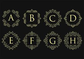 Monogramm-Logos vektor