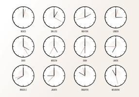 Weltweite Zeitzone
