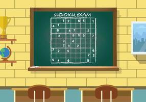 Freie Sudoku-Illustration vektor