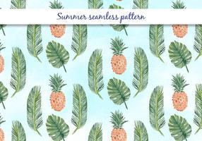 Vektor sommar sömlösa mönster