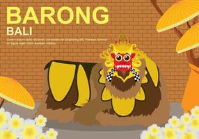 Gratis Barong Illustration