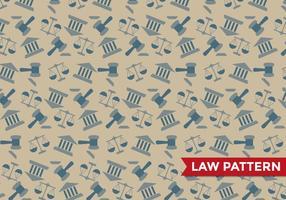 Rättvisa lag mönster vektor