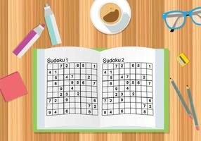 Freie Sudoku Illustration vektor