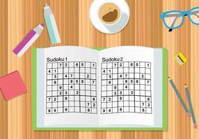 Gratis sudoku illustration