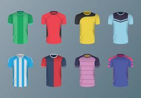 Free Football Shirt Vektoren