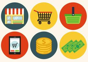 Kostenlose Shopping-Vektor vektor