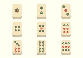 Kostenlose Mahjong Vektor