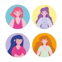 kvinnor seriefigurer