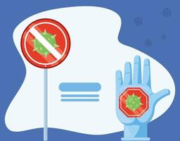 Handschuhe zum Schutz vor Coronavirus