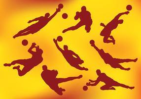 Free Goal Keeper Icons Vektor