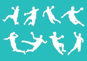 Kostenlose Handball Icons Vektor