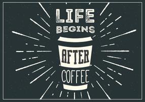Kostenloser Kaffee Vektor