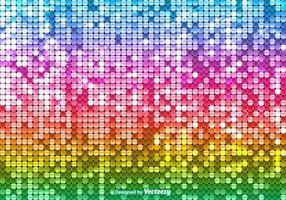 Helle Vektor Sequin Regenbogen Hintergrund