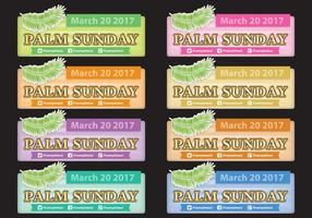 Palm Sunday Banners