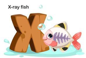 x för röntgenfisk