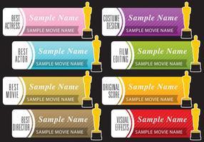 Oscar banners