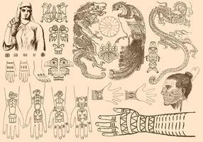 Forntida Tatueringar