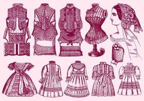 Lace Trim Kläder