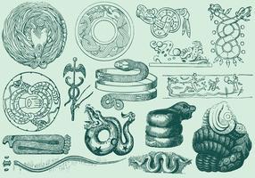 Forntida Serpent Art