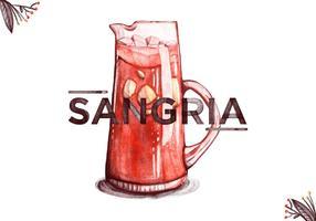 Free Sangria Aquarell Hintergrund