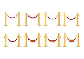 Freier Samt Seil Vektor