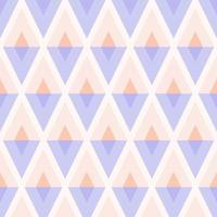 geometrisches nahtloses Pastellharlekinmuster vektor