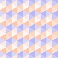 nahtloses abstraktes Pastelldreieckmuster vektor