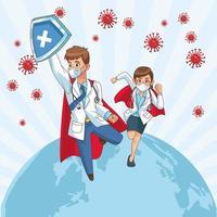 super läkare par vs covid 19
