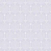 geometrisches nahtloses Muster des abstrakten gestreiften Würfels