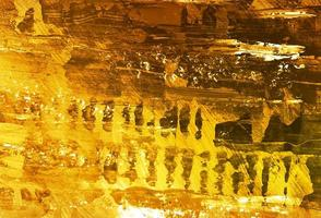 moderner goldener Aquarellbeschaffenheitshintergrund vektor