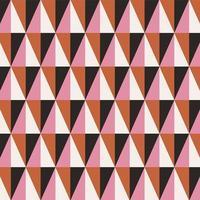 geometrisches nahtloses Muster des abstrakten Dreiecks vektor