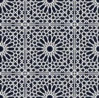 arabisches nahtloses Muster vektor