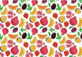 Gratis Fruktmönstervektorer