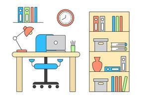 Vector Büro Illustration
