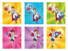 super läkare personal vs covid19