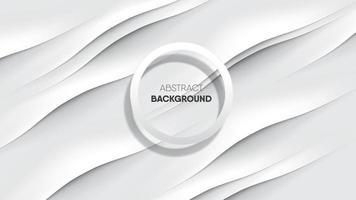 realistiska vita vågband på sidenstruktur