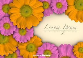 Floral Vektor Hintergrund