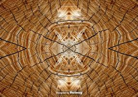 Realistische Baumringe Hintergrund vektor
