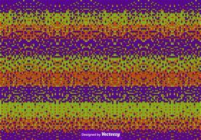 Halloween färgade plattor bakgrunds vektor