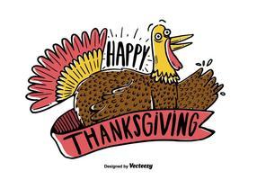 Thanksgiving Türkei Vektor