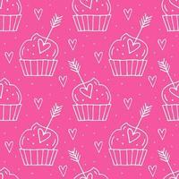 Muffins mit Herzen