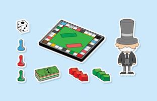 Freier Monopol-Vektor vektor