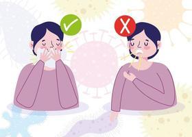 medvetenhet och förebyggande av viral infektion