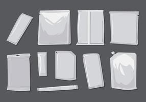 Free Blank Beutel Vektor