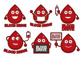 Blut-Laufwerk Vektor