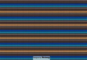 Vektor Strikkad Färgrik Textur