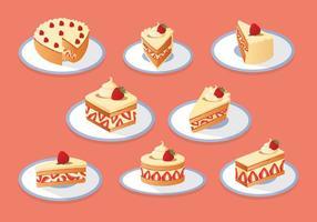 Gratis Strawberry Shortcake Collection vektor
